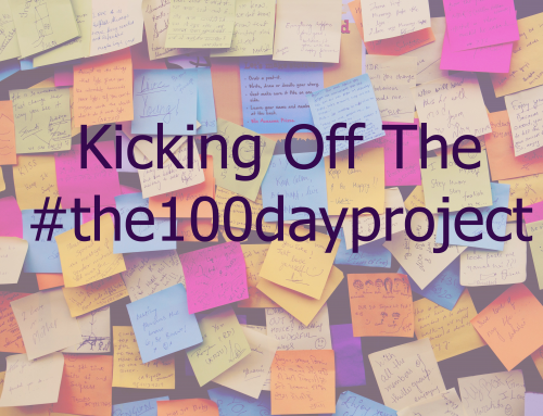 Let's kick off #the100dayproject!